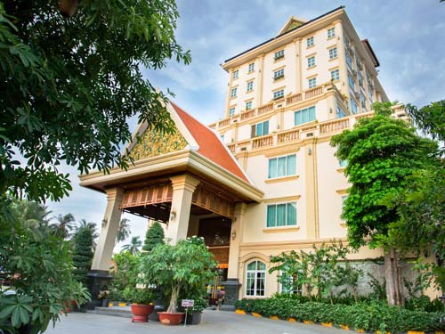 Gemütliches Hotel in Battambang