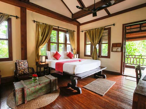Liebevoll und elegant eingerichtete Zimmer