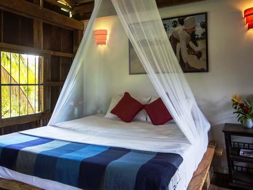 Gemütliches Bett in Kampot