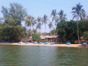 Strandidylle auf Koh Tonsay (Rabbit Island)