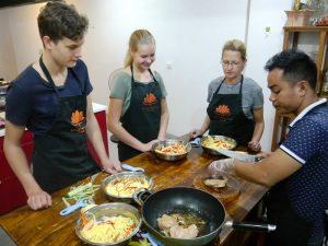 Die Landesküche in Kambodscha ist vielfältig und lecker