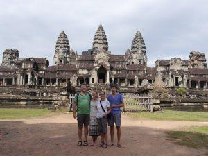 Besuchen Sie die Tempel von Angkor in Siem Reap
