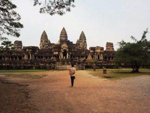 Die Tempel von Angkor sind ein Stück Geschichte von Kambodscha