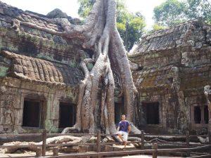 Tempel von Angkor in Siem Reap bei Kambodscha Urlaub