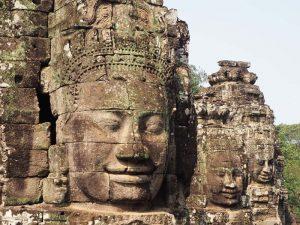 Angkor Tempel bei Kambodscha Rundreise mit Laos