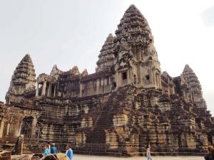 Den Eintritt nach Angkor zahlen Sie vor Ort
