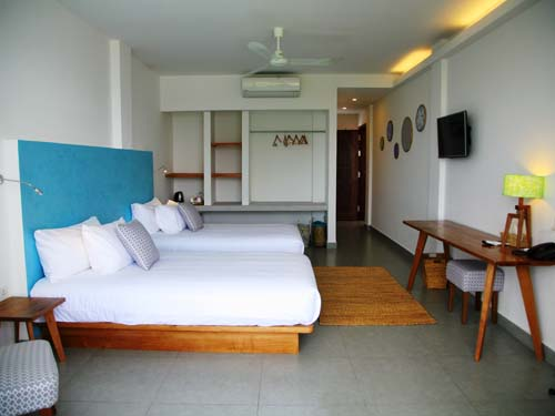 Kambodscha Reisen Sihanoukville Hotelzimmer