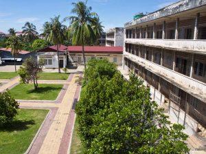 Das Völkermordmuseum S21 in Phnom Penh