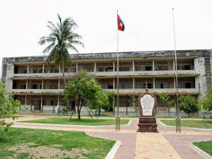 Tuol Sleng Museum in Phnom Penh