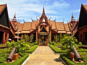 Das Nationalmuseum in Phnom Penh