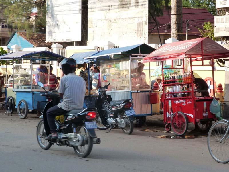 Garküchen in Phnom Penh