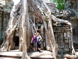 Bekannt aus dem Film Tomb Raider mit Angelina Jolie - Ta Prohm Tempel