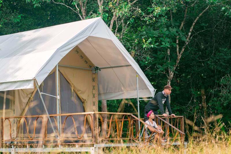 Kambodscha Reisen Camping Cardamom