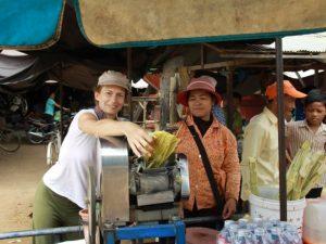 Beim Homestay in Kampong Thom übernachten Sie bei Einheimischen