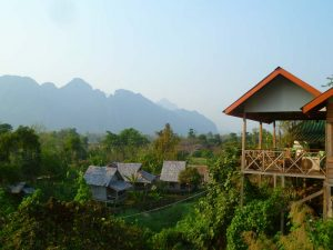 Vang Vieng bei Rundreise von Laos nach Kambodscha