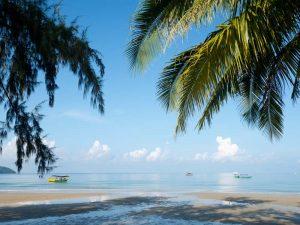 Strand in Sihanoukville bei Kambodscha Urlaub
