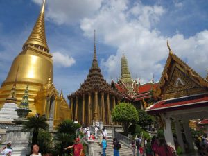 Königspalast in Bangkok vor Laos Kambodscha Reise