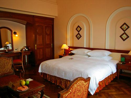Stilvolles Zimmer im Hotel in Saigon