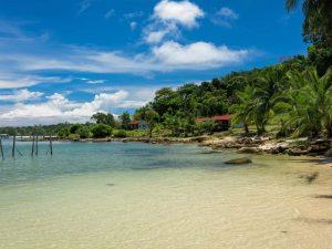 Strand auf Koh Rong Samloem