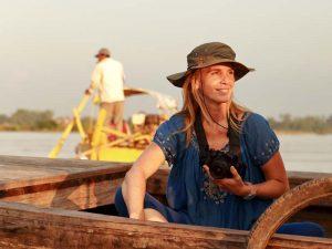 Bootstour auf dem Mekong bei Kratie