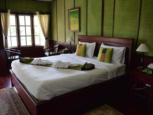 Komfortables Zimmer auf dem Bolaven Plateau