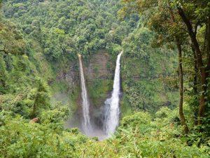 Tad Fane Wasserfall auf dem Bolaven Plateau