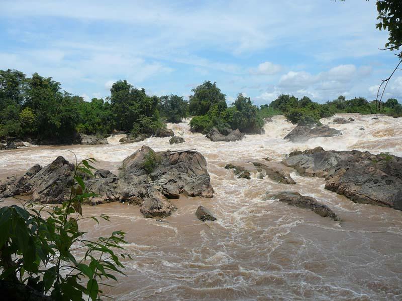 Besuchen Sie die Mekong Fälle