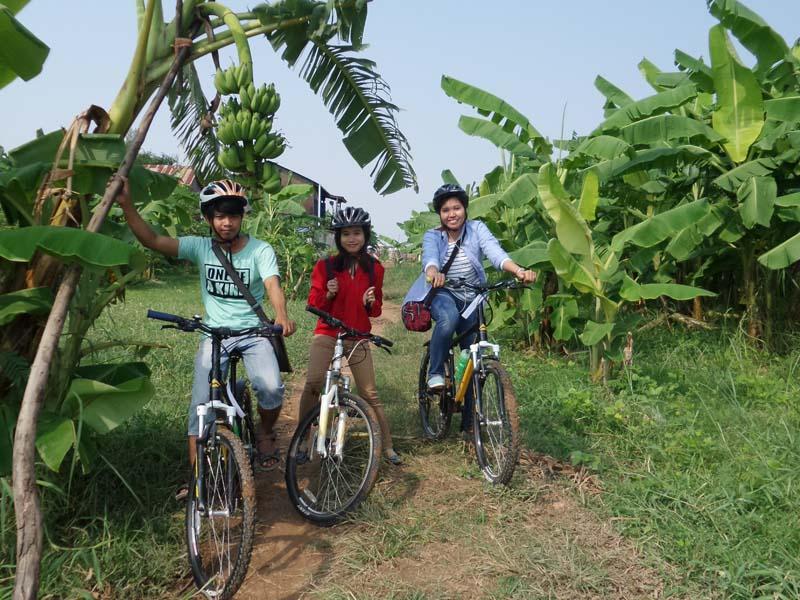 Ausflüge in Phnom Penh - Erkunden Sie die Insel Koh Dach mit dem Fahrrad