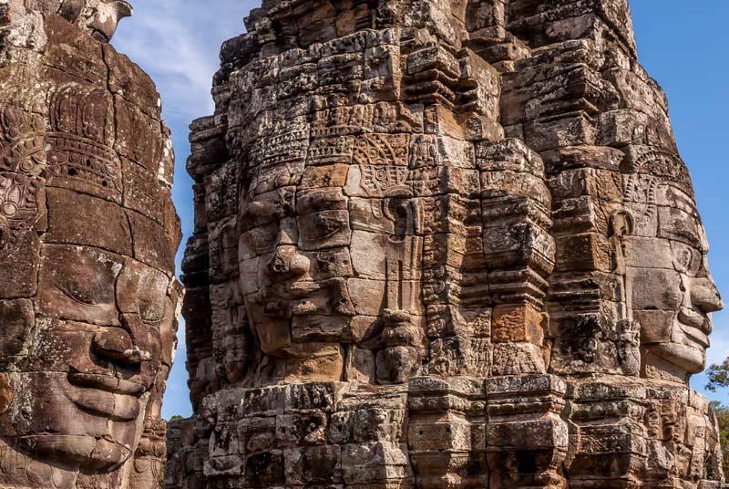 Indochina Reisen Gesichter Siem Reap Angkor Wat