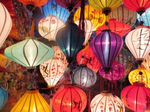 Bunte Lampions in Hoi An