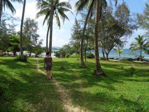 Weg zum Strand auf Phu Quoc