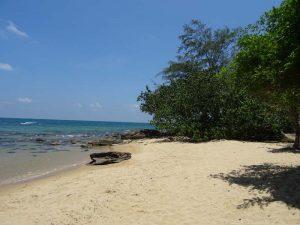 Strand und Meer auf der Insel Phu Quoc in Vietnam