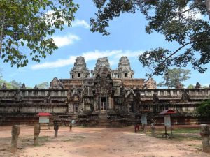 Kambodscha Sehenswürdigkeiten Angkor Wat Bayon Tempel