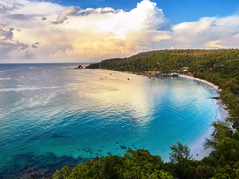 Nehmen Sie Abschied vom Inselparadies