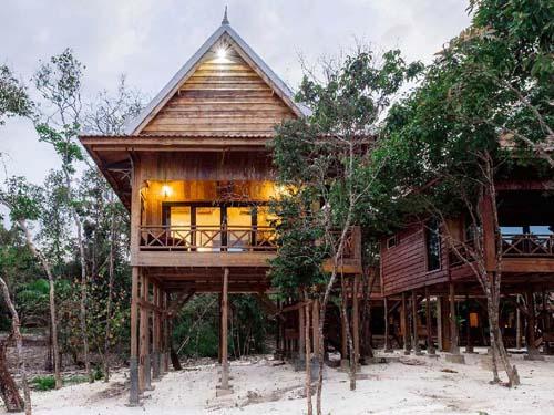 Komfortabel übernachten auf Koh Rong Samloem