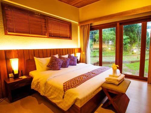 Komfortabel eingerichtetes Zimmer in Sen Monorom