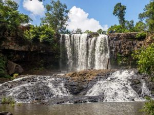 Bou Sra Wasserfall in der Region Mondulkiri