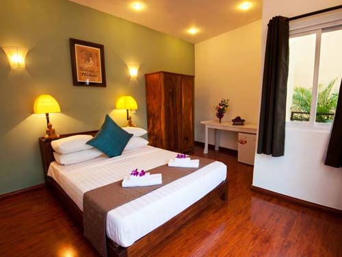 Hotelzimmer in Phnom Penh bei Kambodscha Rundreisen