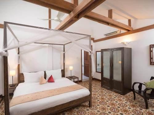 Komfortables Zimmer im Hotel in Phnom Penh
