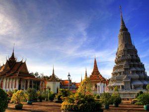 Tempel in Phnom Penh
