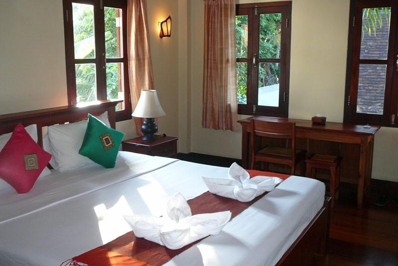 Hotelzimmer in Luang Prabang