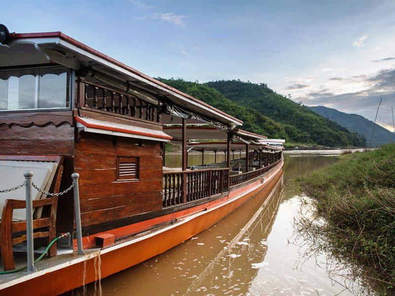 Mekong Flusskreuzfahrt-Schiff