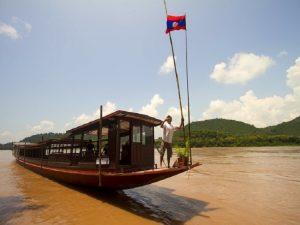 Mekong Kreuzfahrt in Laos