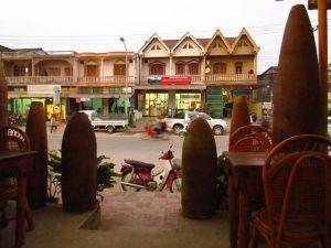Straße in Phonsavan