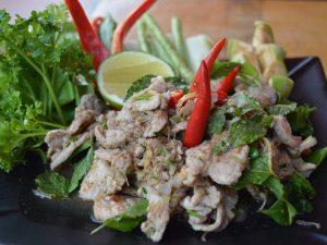 Die Landesküche in Laos ist sehr vielfältig