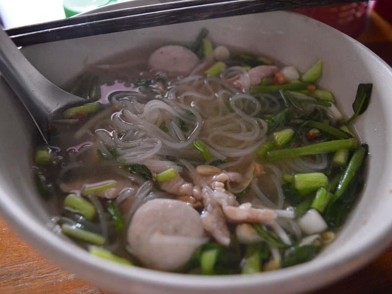 Nudelsuppen sind in Laos ein gern gegessenes Gericht