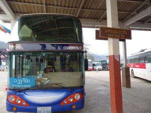 Mit dem Bus durch Laos reisen