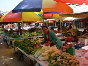 Markt in Luang Namtha
