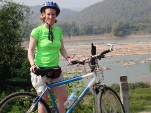 Mit dem Fahrrad auf Erkundungstour