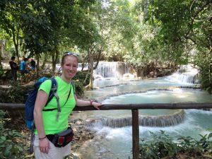 Reise durch Laos in 3 Wochen - Besuchen Sie die Kuang Si Wasserfälle